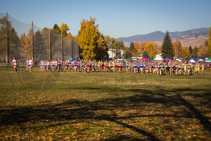 2013 MHSA State XC Championships - Class A - Girls-7