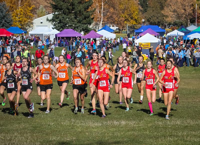 2013 MHSA State XC Championships - Class AA - Girls-17