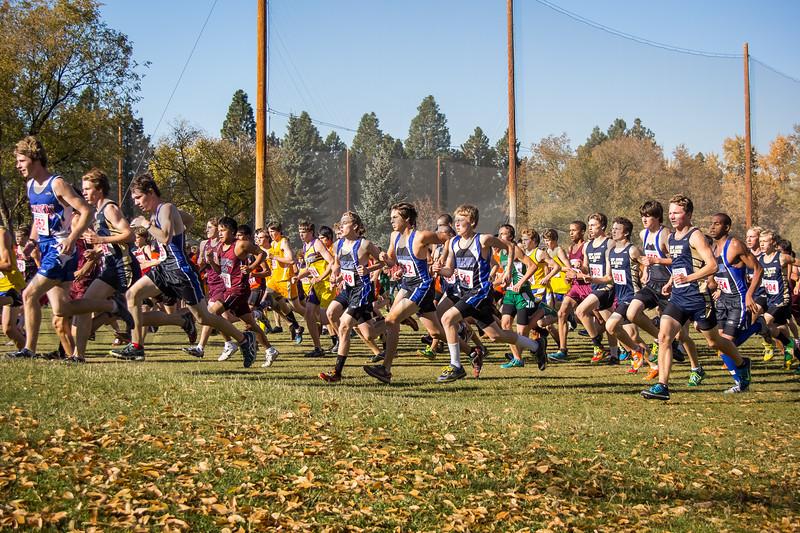 2013 MHSA State XC Championships - Class B - Boys (fs)-17
