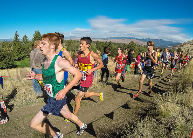 2015 XC MWC - Race 3 - Varsity Boys (f)-11