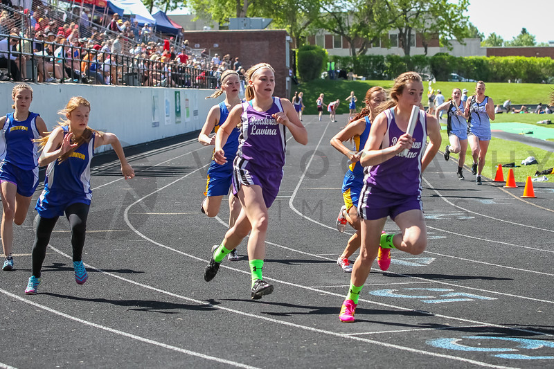 2014 MHSA T&F State Meet - Day 1 (f)-19
