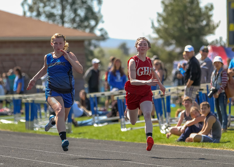2016 Missoula Invite - 100m dash - girls (f)-14