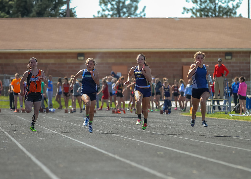 2016 Missoula Invite - 100m dash - girls (f)-37