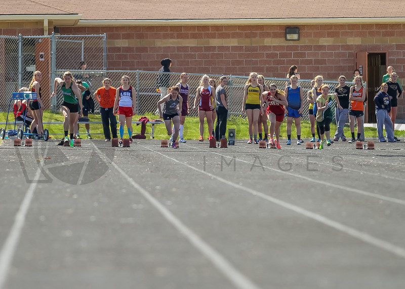 2016 Missoula Invite - 100m dash - girls (f)-1
