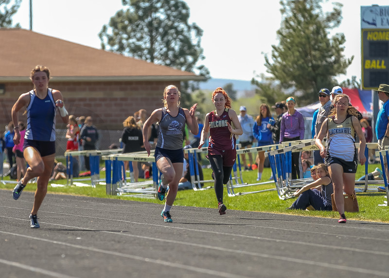 2016 Missoula Invite - 100m dash - girls (f)-39