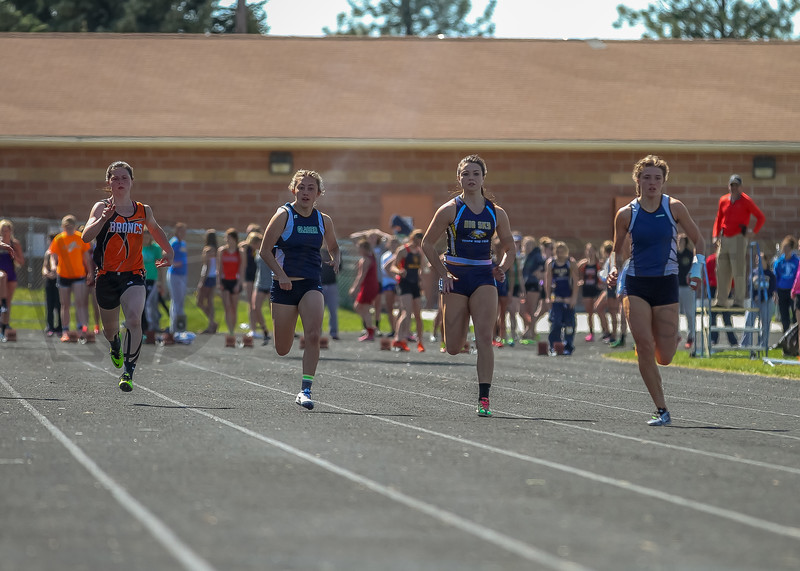2016 Missoula Invite - 100m dash - girls (f)-36