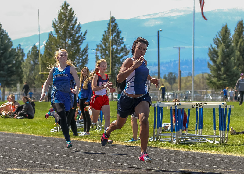 2016 Missoula Invite - 100m dash - girls (f)-27