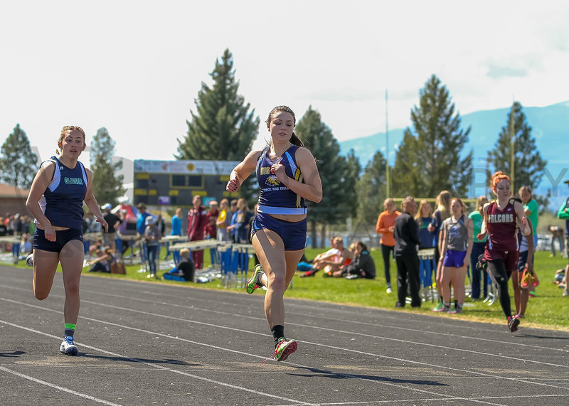 2016 Missoula Invite - 100m dash - girls (f)-43