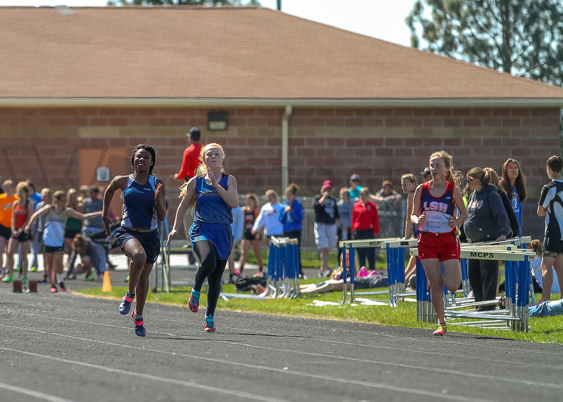 2016 Missoula Invite - 100m dash - girls (f)-19