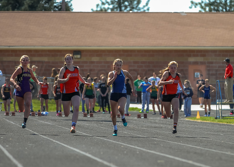 2016 Missoula Invite - 100m dash - girls (f)-48