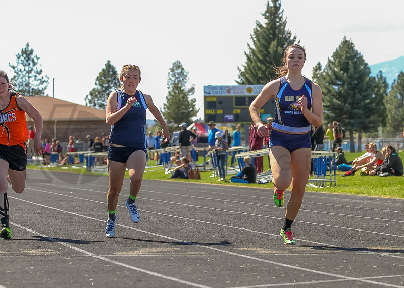 2016 Missoula Invite - 100m dash - girls (f)-42