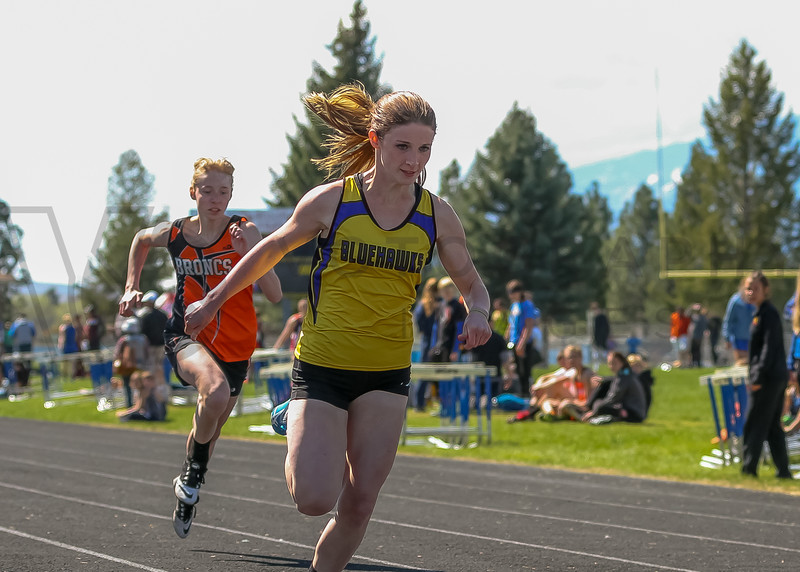 2016 Missoula Invite - 100m dash - girls (f)-29