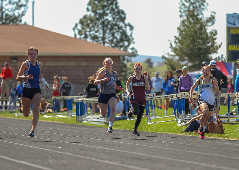 2016 Missoula Invite - 100m dash - girls (f)-38