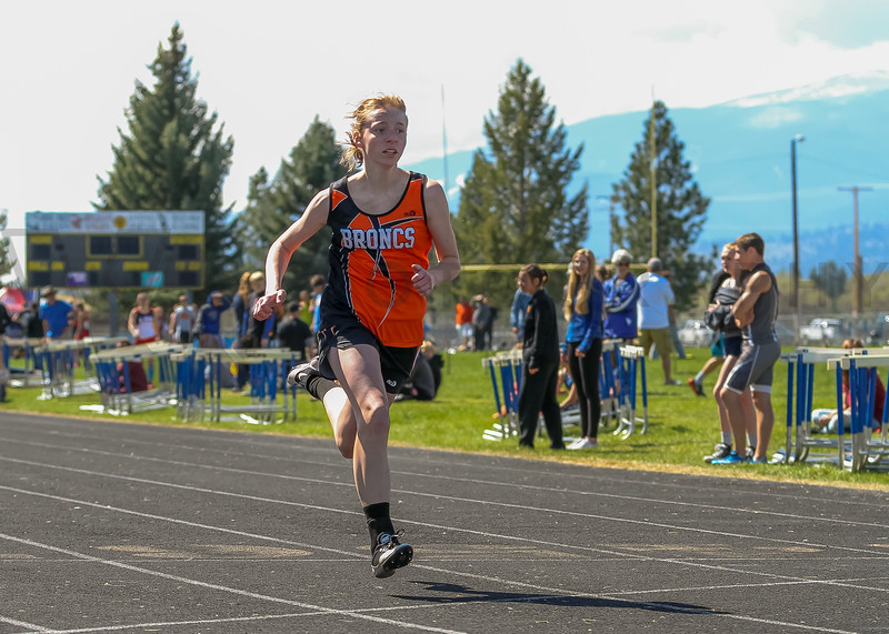 2016 Missoula Invite - 100m dash - girls (f)-31