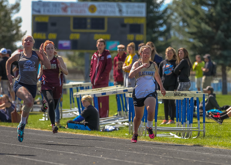 2016 Missoula Invite - 100m dash - girls (f)-41