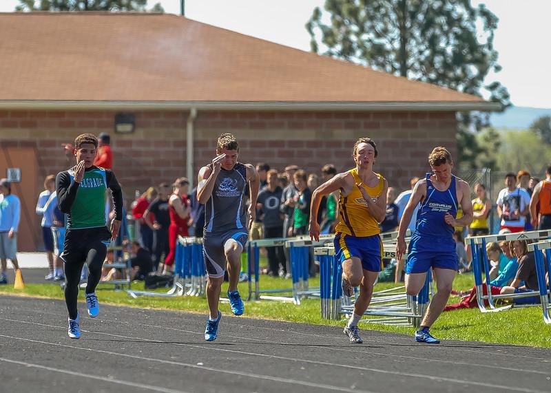 2016 Missoula Invite - 100m dash - boys (f)-47