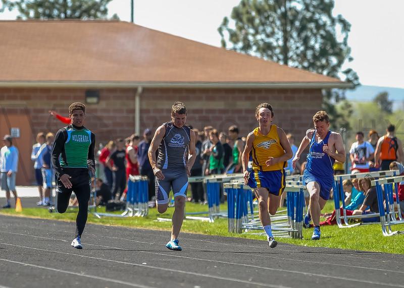 2016 Missoula Invite - 100m dash - boys (f)-48