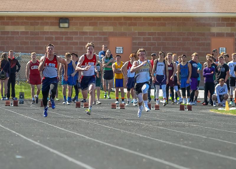 2016 Missoula Invite - 100m dash - boys (f)-1