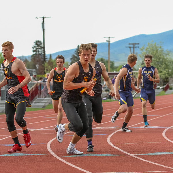 2017 T&F Greg Rice Missoula City Meet - 4x400m (f)-307