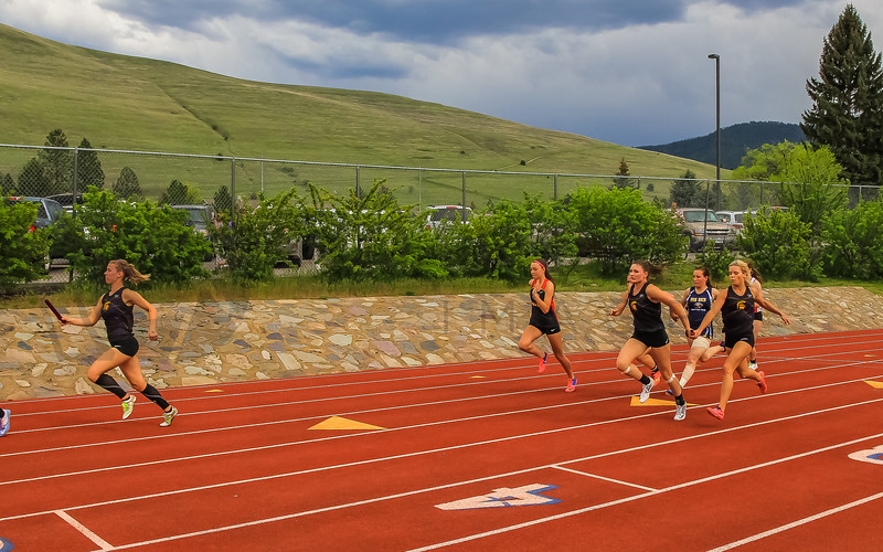 2017 T&F Greg Rice Missoula City Meet - 4x400m (f)-22