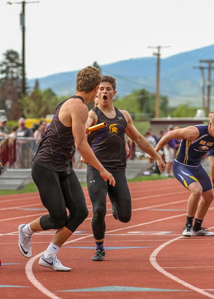 2017 T&F Greg Rice Missoula City Meet - 4x400m (f)-305