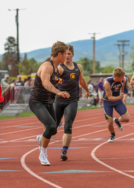 2017 T&F Greg Rice Missoula City Meet - 4x400m (f)-306