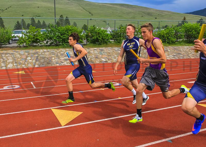2017 T&F Greg Rice Missoula City Meet - 4x400m (f)-14
