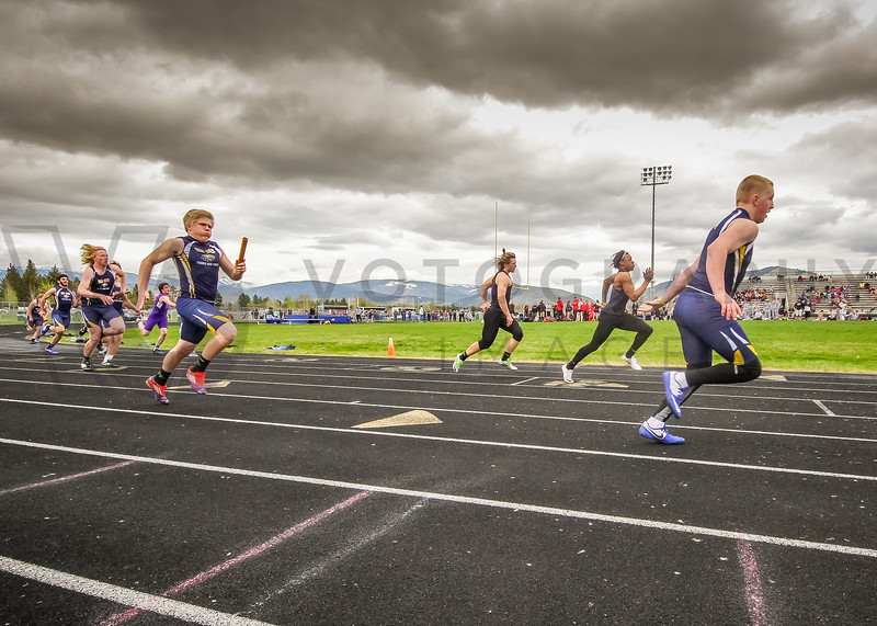 4x100m relay (f)-10