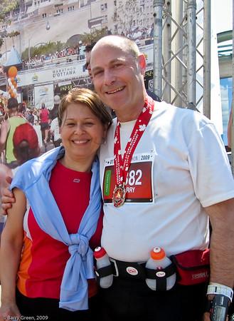 Ottawa Marathon - 2009, with my wife Lisa. 20090524-IMG_1974