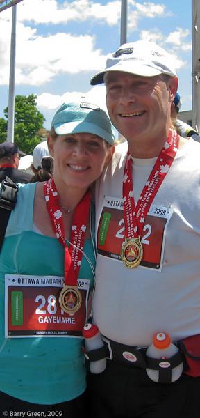 Ottawa Marathon - 2009, with Gayemarie 20090524-IMG_1977