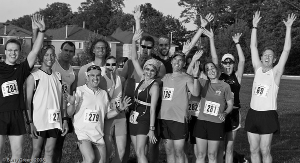 Beer Mile Participants (Runners) before the race! 20080731-IMG_3071