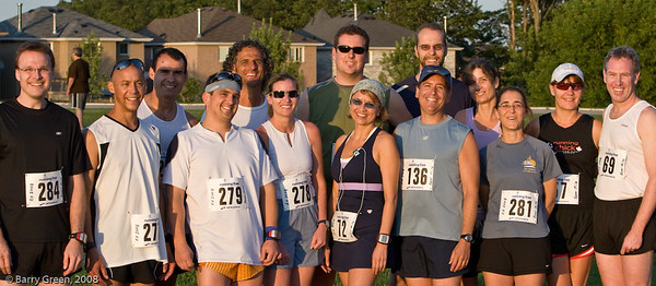 Beer Mile Participants (Runners) before the race! 20080731-IMG_3068