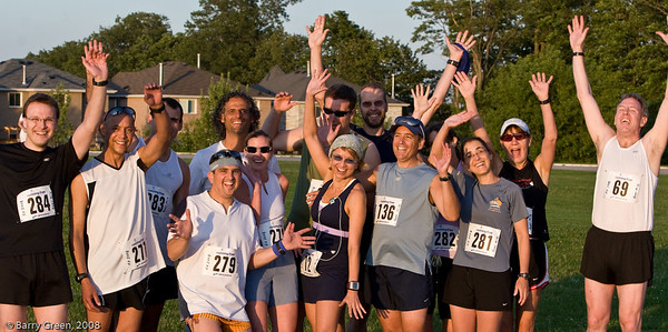 Beer Mile Participants (Runners) before the race! 20080731-IMG_3072
