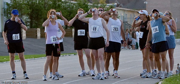 Start of the race chugging/drinking first beer before first lap. 20080731-IMG_3126