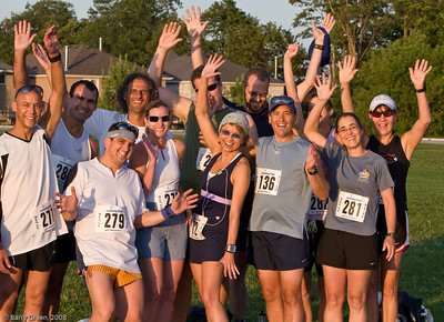 Some of the Beer Mile Participants (Runners) before the race! 20080731-IMG_3074