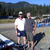 Gary & Lobo at the start