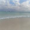 Playa del Carmen looks calm ... and warm.