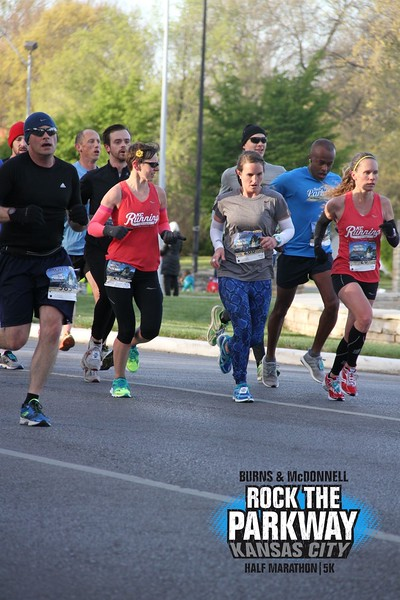 Pacing with Michelle at Rock the Parkway