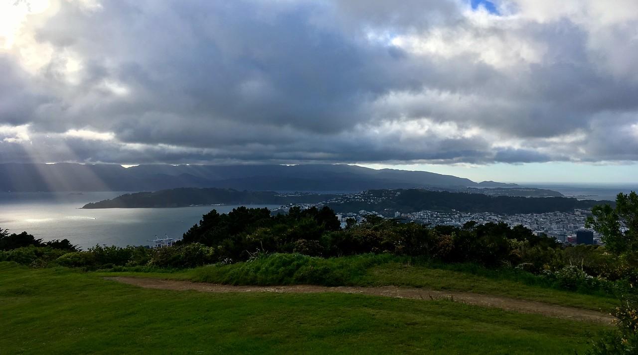 Getting to the top of Tinakori Hill