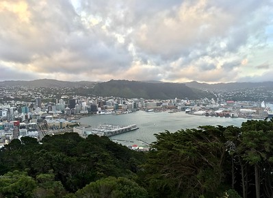 The first run I did was Mt Victoria
