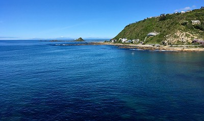 South Island can be seen clearly on a beautiful day like this