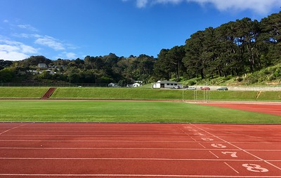 The track was particularly nice this morning