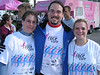 NE Ohio Race for the Cure, Courtney, Me and Jenn