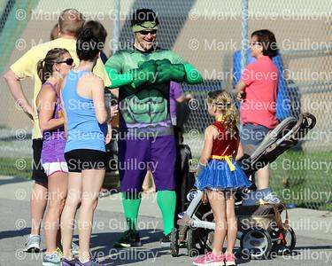 RUN - Daddy, Daughter & Son 1 Mile 2014