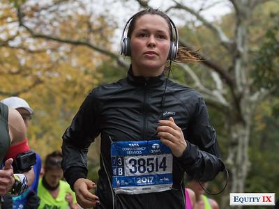 2017 NYC Marathon - Mile 25 - Isabelle Winnubust © Equity IX - SportsOgram