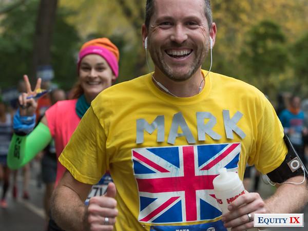 2017 NYC Marathon - Mile 25 - Mark Daly © Equity IX - SportsOgram