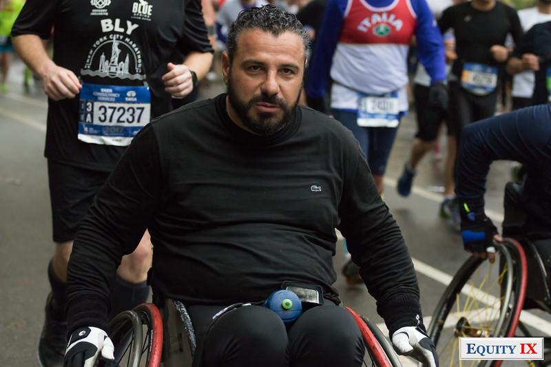 2017 NYC Marathon - Mile 25 - Wheelchair © Equity IX - SportsOgram