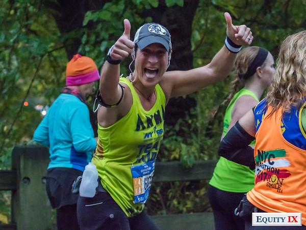 2017 NYC Marathon - Mile 25 - Anna Traggio © Equity IX - SportsOgram