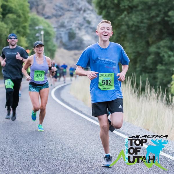 GBP_5197 20180825 0708 Top of Utah Half Marathon Logo'd