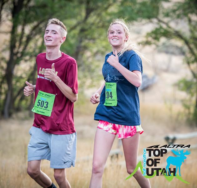 GBP_6609 20180825 0752 Top of Utah Half Marathon Logo'd